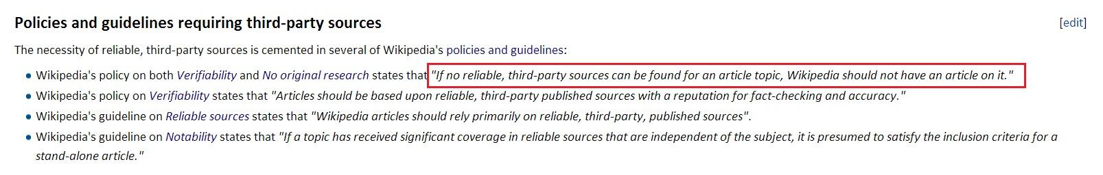 Wikipedia nosources