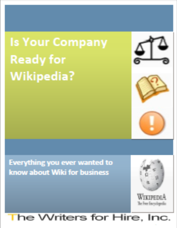 download our free wikipedia ebook is your company ready