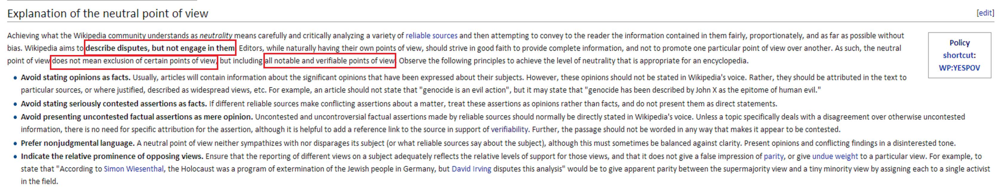 Wiki Neutral